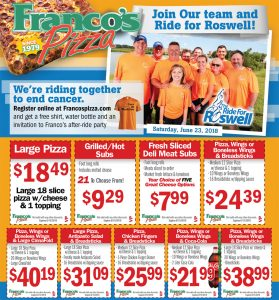 Franco's Additional Coupons
